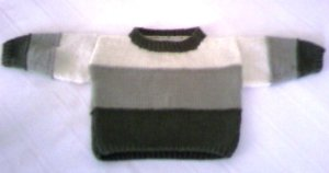 Patricks 1st bday sweater