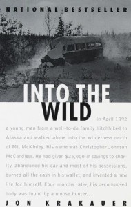 Into the Wild by Jon Krakauer Book Cover